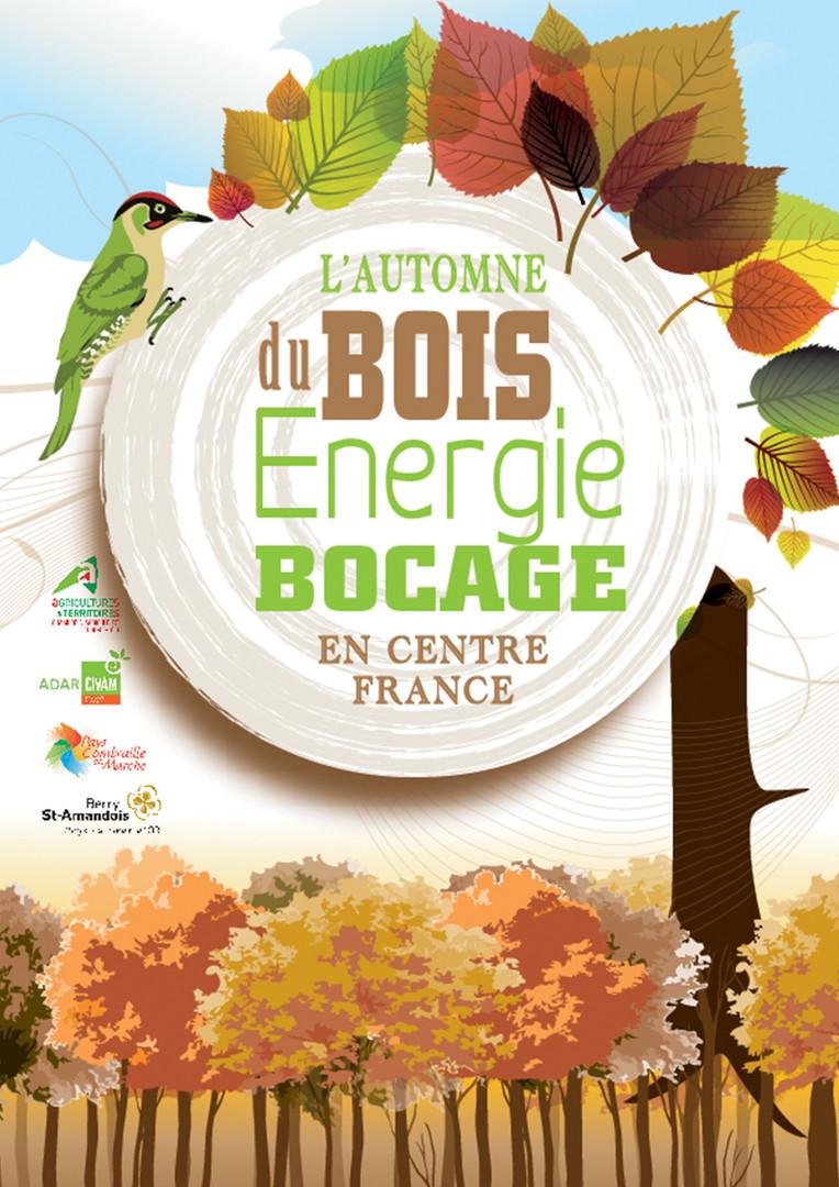 Affiche Bois de Bocage Centre France