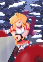 Fanart Erika et les princes en détresse