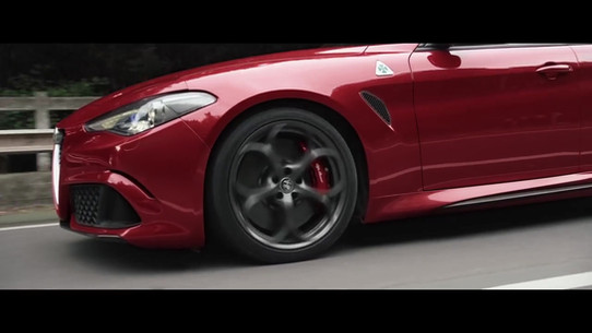 Alfa Romeo Giulia Quadrifoglio new trail