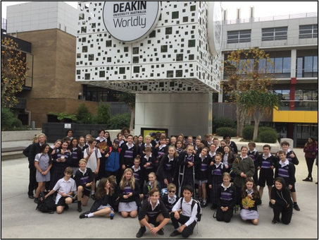 Year 7 Deakin University Visit