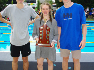 Inter-house Swimming – 'Otway claim 4-in-a-row'