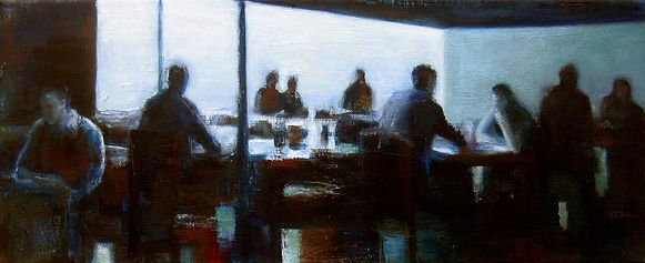 From the series Space and Light 2009, oil on canvas, 24 x 60 cm