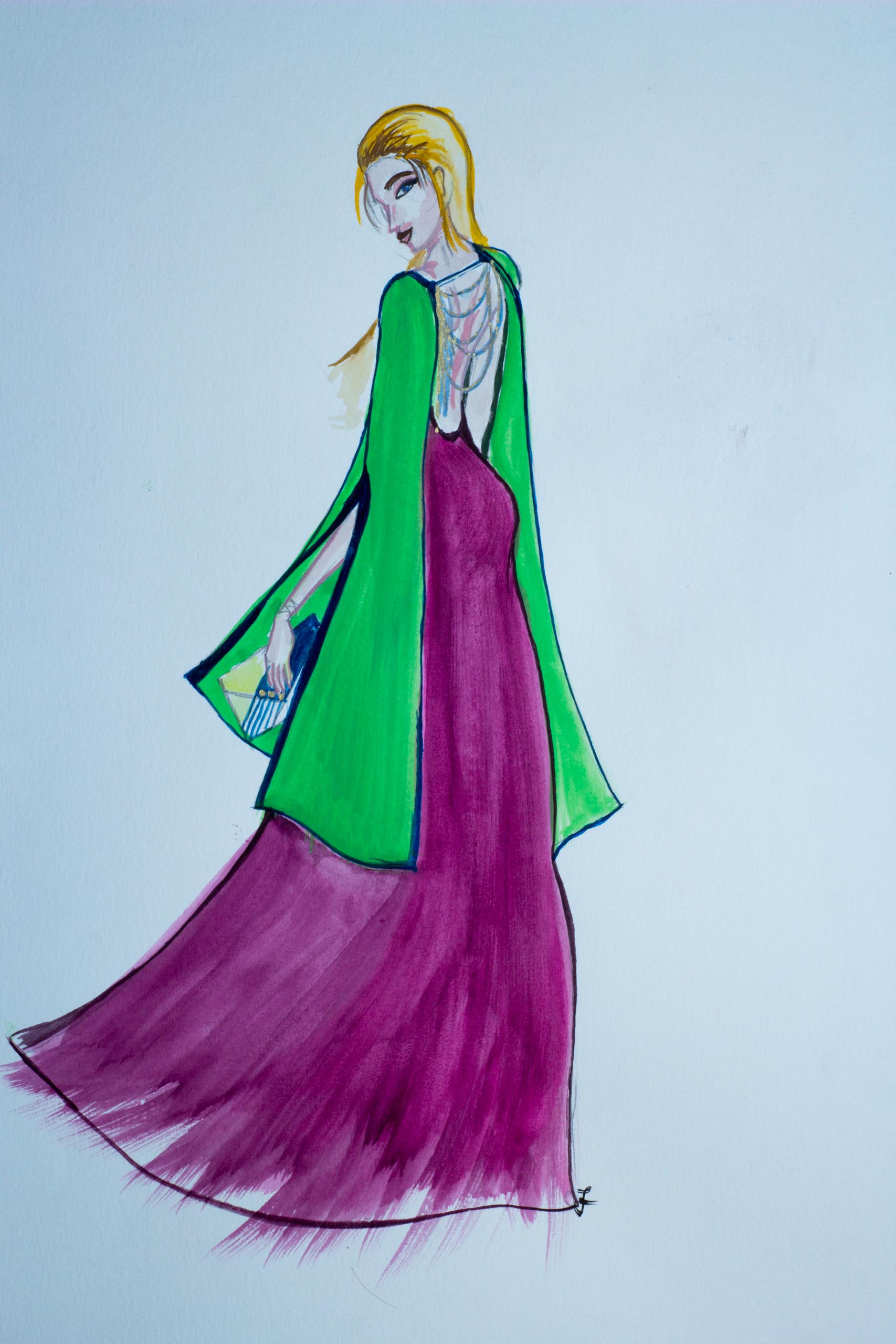 Split Gown