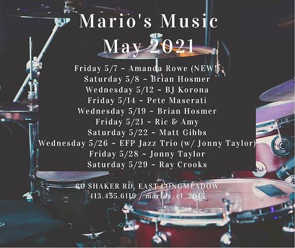 Mario's - May Music 2021.JPG