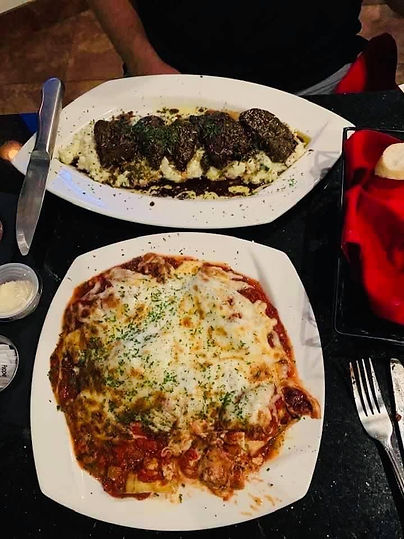 Mario's - Eggplant and something else.JP