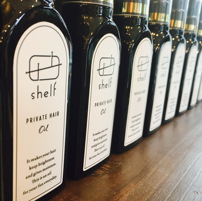 shelf PRIVATE HAIR OIL