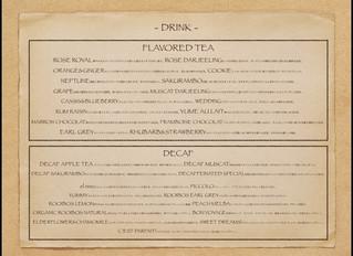 お茶の種類を増やしました!