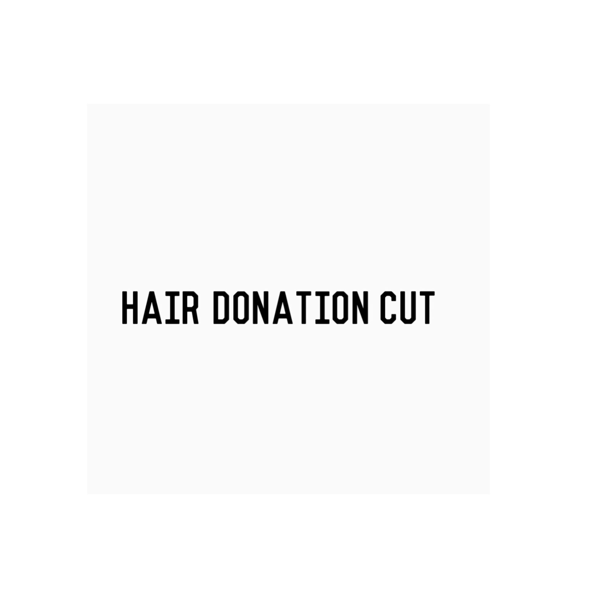 Hair Donation Cut