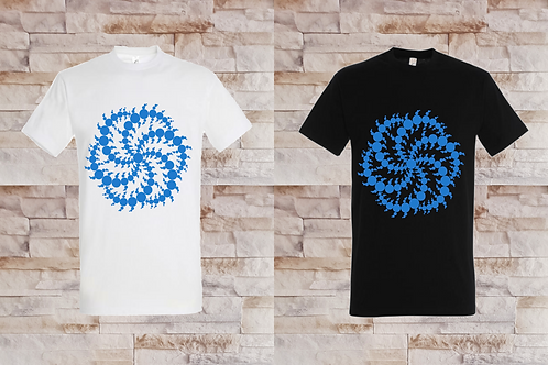 T-shirt Homme Crop Circle 2