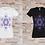 Thumbnail: T-shirt Femme Cube de Métatron