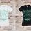 """Thumbnail: T-shirt Femme """"Une peur est une projection dans le Futur, d'un événement..."""""""