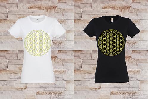 T-shirt Femme Fleur de vie