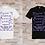 """Thumbnail: T-shirt Homme """"La peur n'empêche pas la mort, la peur empêche la vie"""""""