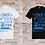 """Thumbnail: T-shirt Homme """"Vérité, Unité, Équité, Paix, Amour"""""""