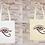 Thumbnail: Sac Tote Bag Oeil d'Horus