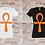 Thumbnail: T-shirt Femme Ankh