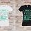 """Thumbnail: T-shirt Femme """"Vérité, Unité, Équité, Paix, Amour"""""""