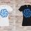 Thumbnail: T-shirt Femme Crop Circle 2