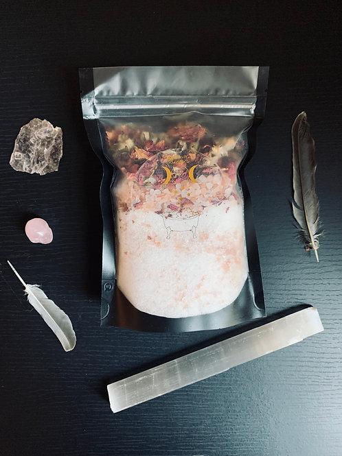 Rose Bath Salt Bag