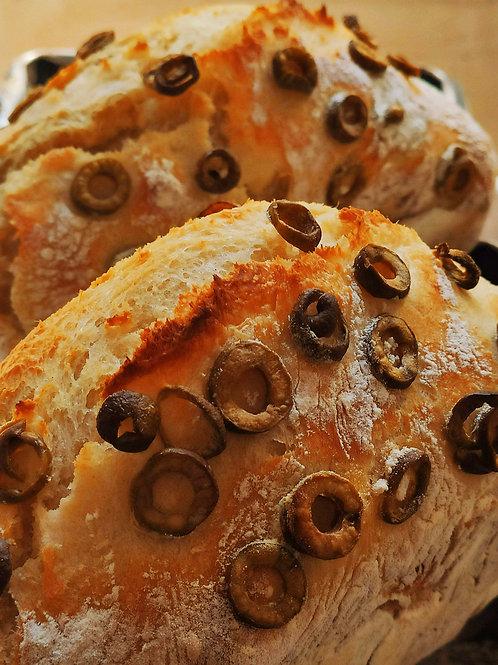 Pão ARTEsanal de Azeitonas
