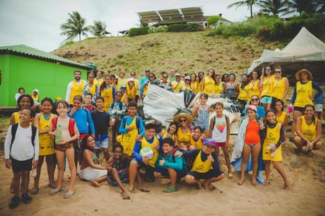 Oceano Sem Plástico - – Parceria com Giral Viveiro de Projetos, WWF Brasil e OMO/ Unilever