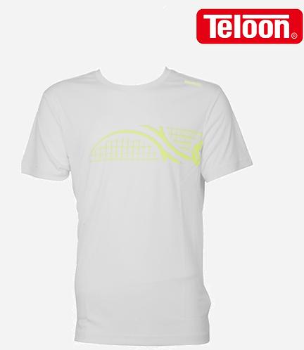 Men's Short-Sleeved T-Shirt - WHITE