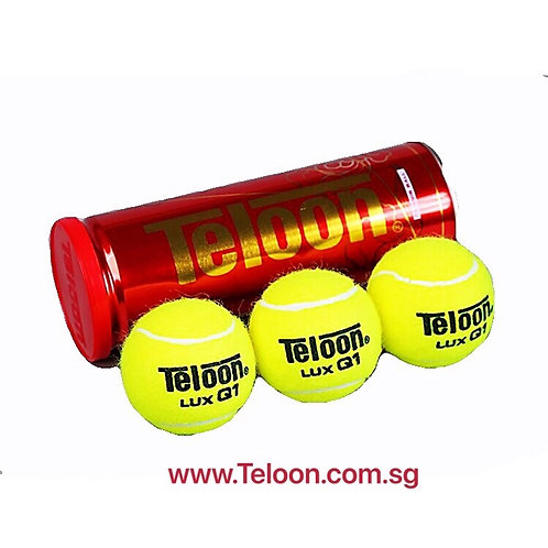 """Tournament Ball - ITF APPROVED """"LUX Q1"""" (3 Balls/Can)"""