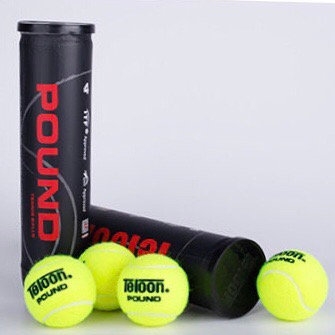 Tournament Ball - ITF POUND P4 BLACK (96 Balls/24 Tubes/Carton)