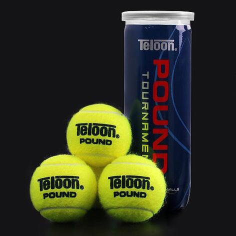 Tournament Ball - ITF POUND P3 BLUE (72 Balls/24 Tubes/Carton)