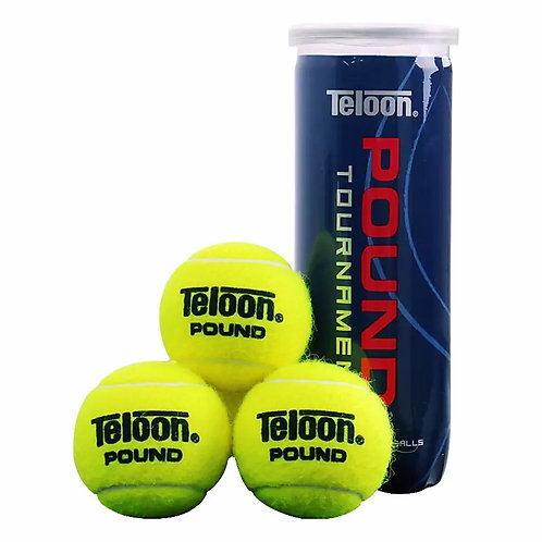 "Tournament Ball - ITF APPROVED ""POUND BLUE"" (3 Balls/Tube)"