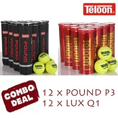 Combo Deal -  LUX Q1 (36 Balls/12 Cans) + POUND P3 Black (36 Balls/12 Tubes)