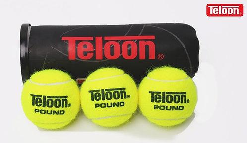 Tournament Ball - ITF POUND P3  BLACK (72 Balls/24 Tubes/Carton)