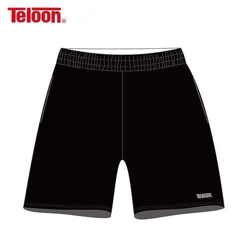 TELOON Tennis Shorts - BLACK