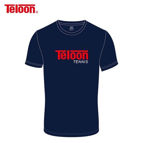 Unisex Short-Sleeved Round Neck T-Shirt - DARK BLUE