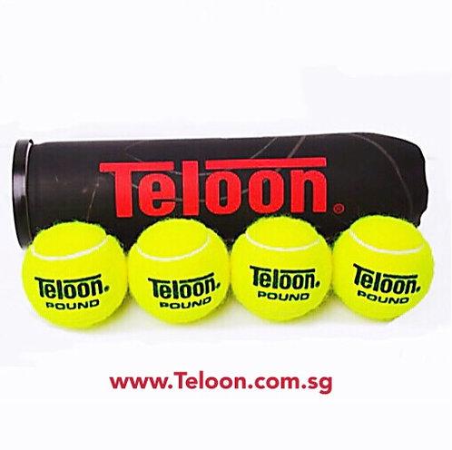 Tournament Ball - 96 Balls ITF APPROVED POUND BLACK P4 | 24 Tubes x 4 Balls/Tube