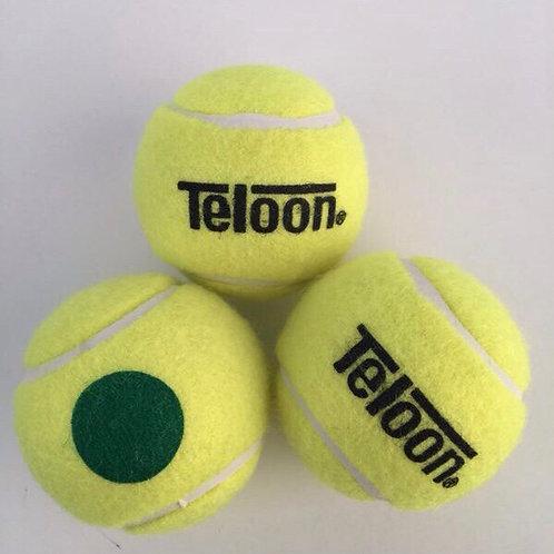 Beginners Ball - ITF Stage 1 GREEN (72 Balls/24 Tubes/Carton)