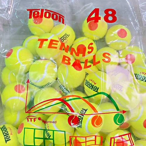 Beginner Ball - 48 Balls ITF APPROVED Stage 2 | ORANGE | 48 Balls/Bag