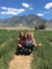 lavender farm, ROIL yogis, Young Living Essenial Oil, Utah