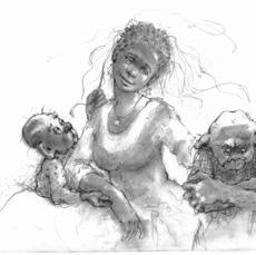 B&W Illustrations