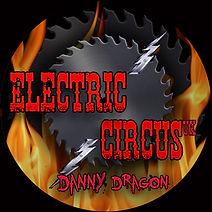 Electric Circus UK Danny Dragon Drum Skin logo