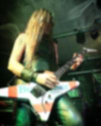 Eddie Holmes Budweiser guitar