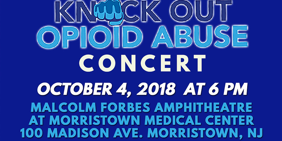 Knock Out Opioid Abuse Concert