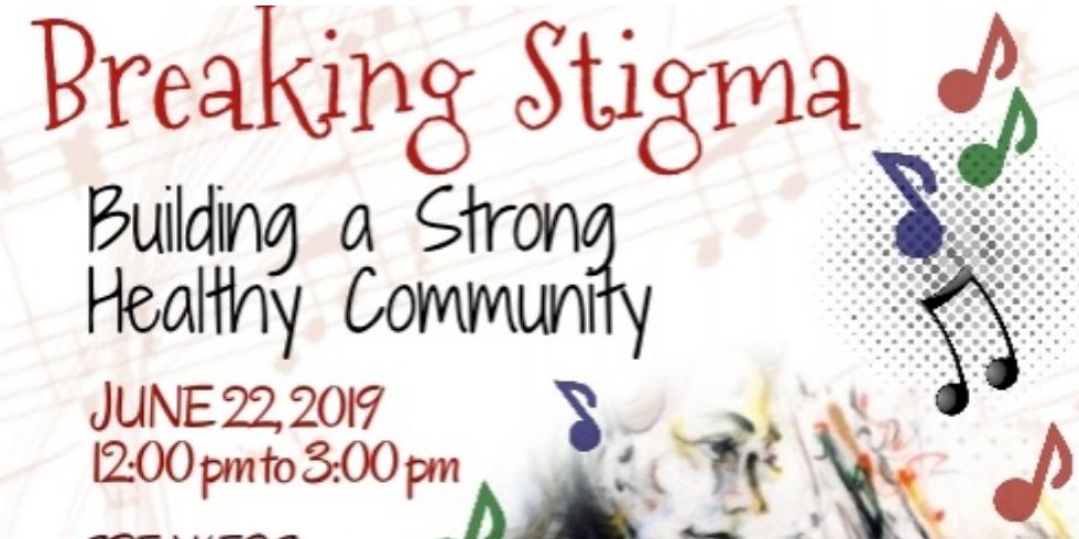Breaking Stigma Festival on the Morristown Green