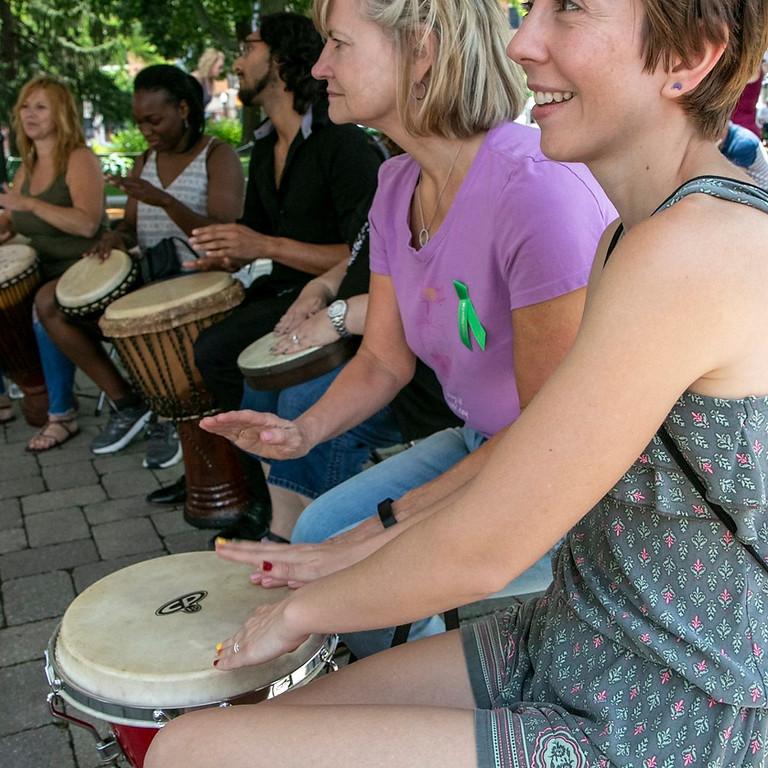 Community Drum Circle - August 25, 2021