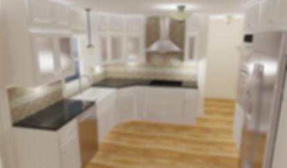 3-D Kitchen Design