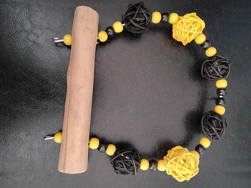 Jumbo Perch Black/Yellow