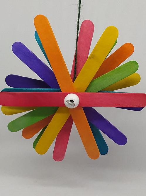Rainbow Spinning Sticks