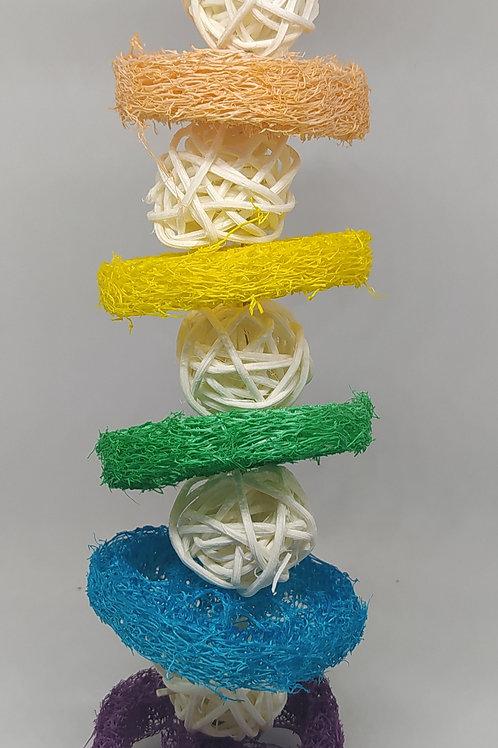 Jumbo Rainbow Loofah Hanger #2