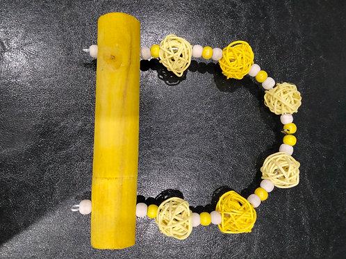 Jumbo Perch Yellow/White