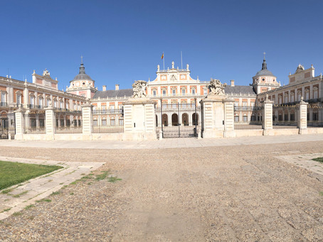 Paseo en verano por Aranjuez.